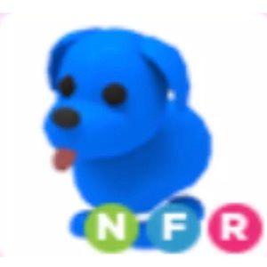 Roblox Adopt me Neon Blue Dog